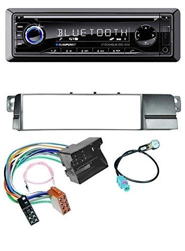 Blaupunkt Stockholm 230 DAB CD MP3 DAB USB SD Bluetooth AUX Autoradio für BMW 3er E46 (Quadlock)