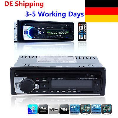 Bluetooth AUTORADIO Freisprecheinrichtung Radio Stereo 1 DIN MP3 SD USB AUX-IN