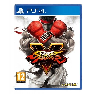 PS4 Spiel Street Fighter 5 V NEUWARE