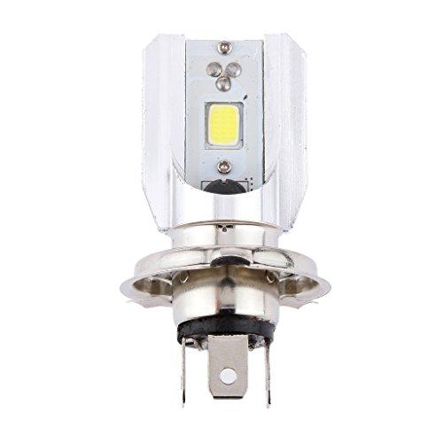 MagiDeal H4 80W Weiß LED Motorrad Lampe Glühbirne Blinker Scheinwerfer Vorn