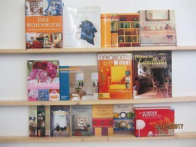 24 Bücher Bildbände Schönes Wohnen Einrichten Dekoration Innenausstattung
