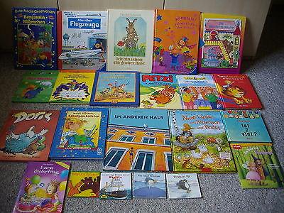 18 Bilderbücher & 4 Minis Buchpaket Kinderbücher ab ca. 4 J. WWW? Petzi vorlesen