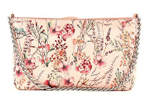 ESPRIT Damen 057ea1o036 Umhängetasche, Pink (Nude), 4x15,5x25 cm