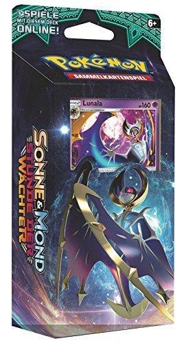 Pokemon Sonne & Mond - Serie 2 - Stunde der Wächter - Themendecks - Lunala/Solgaleo - Deutsch (Lunala Deck)