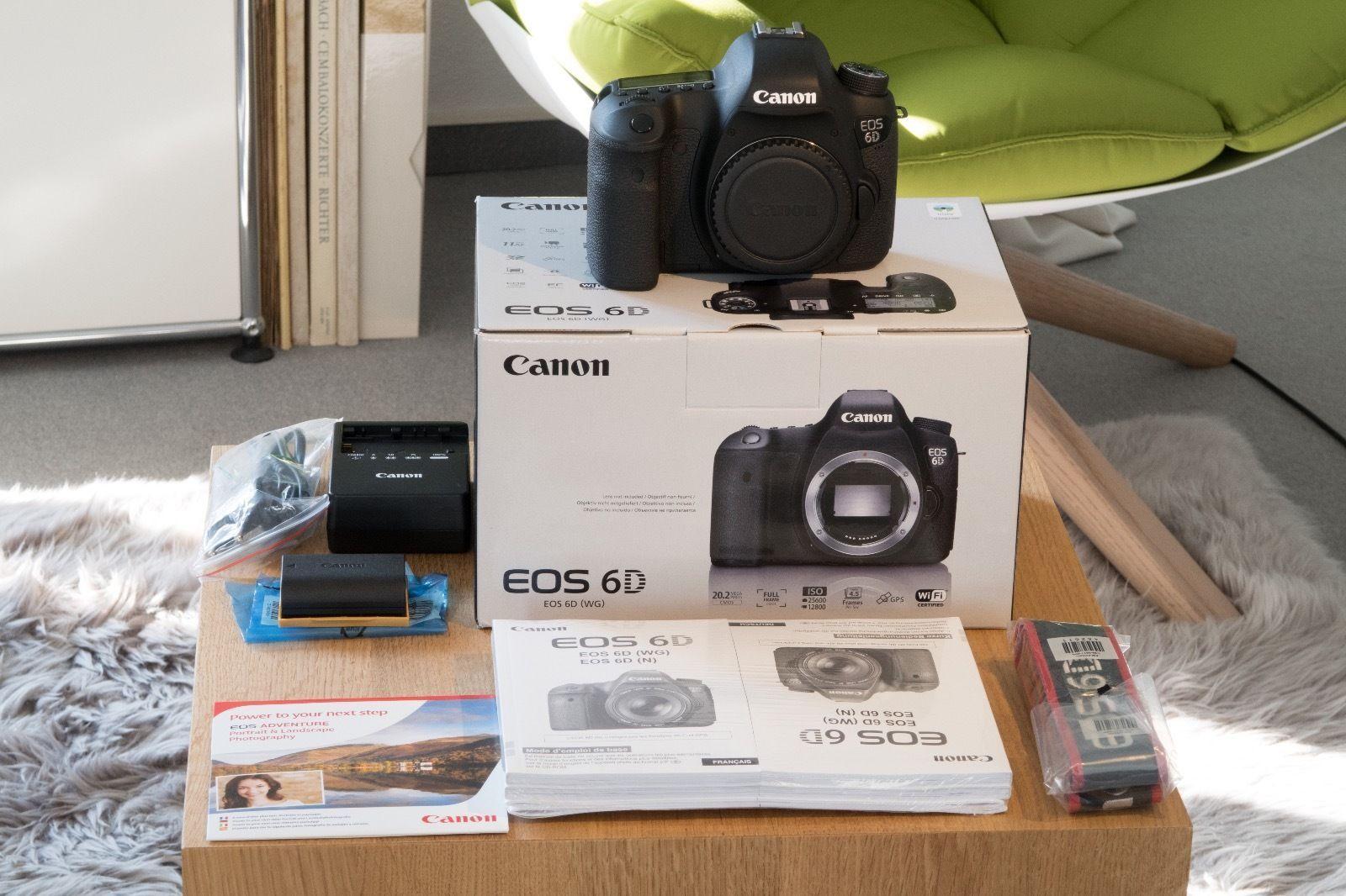 Canon EOS 6D 2.,2 MP SLR-Digitalkamera - Schwarz