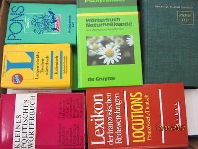 54 Bücher Wörterbücher verschiedene Sprachen Fachwörterbücher