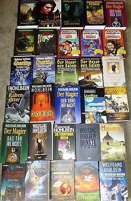 Fantasy, Wolfgang Hohlbein, Heike Hohlbein, 58 Bücher, 60 Romane, div. Verlage