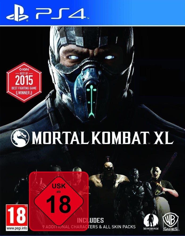 PS4 Mortal Kombat XL 100% UNCUT DLC auf der DISC NEU&OVP Paketversand