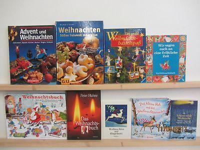 63 Bücher Weihnachten Advent Christfest weihnachtliche Bücher Weihnachtsbasteln