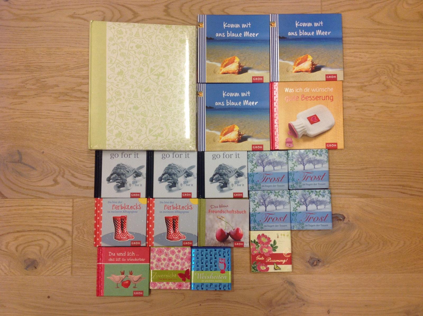 Bücherpacket, Hochzeitsalbum, Sprüchebücher, Bücher für alle Lebenslagen, Neu
