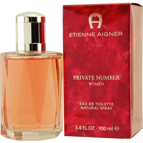 Private Number Von Etienne Aigner Für Damen. Eau De Toilette Spray 3.4 Oz / 100 Ml