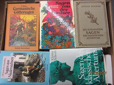 39 Bücher Sagen Heldensagen Göttersagen klassische Sagen