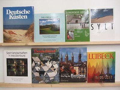 29 Bücher Bildbände Deutschland deutsche Bundesländer deutsche Städte