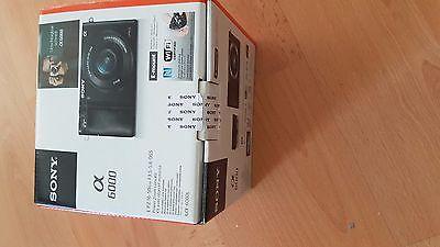 Sony Alpha 6000 Schwarz +Objektiv 16-50mm