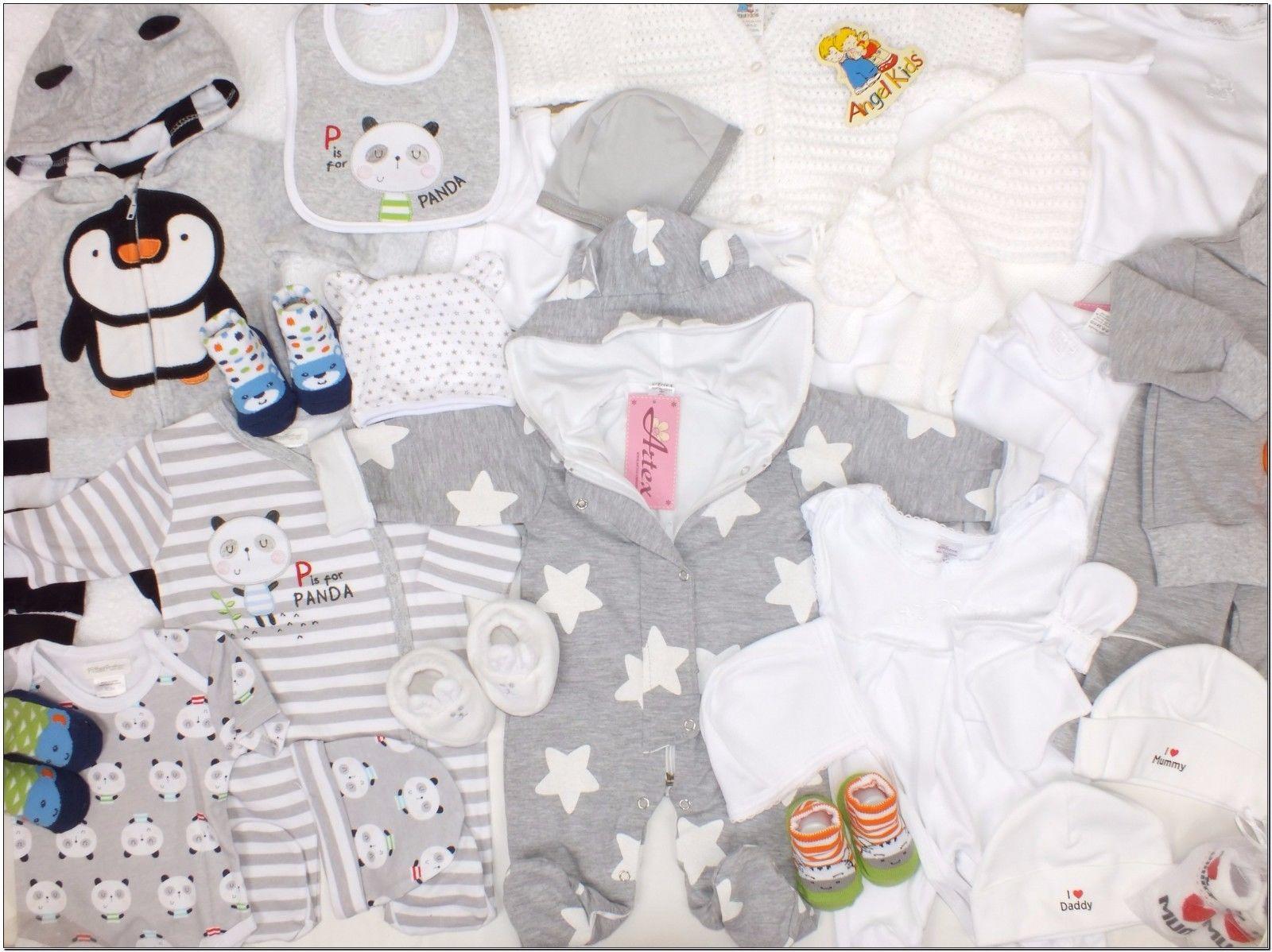 35Tlg SET Baby Starterset Gr 56 62 Erstausstattung Traum Paket Unisex