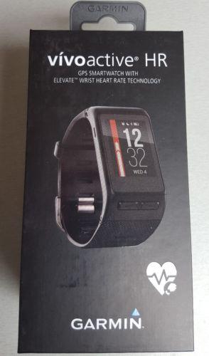Garmin vivoactive hr - GPS Smartwatch mit Herzfrequenzmessung am Handgelenk