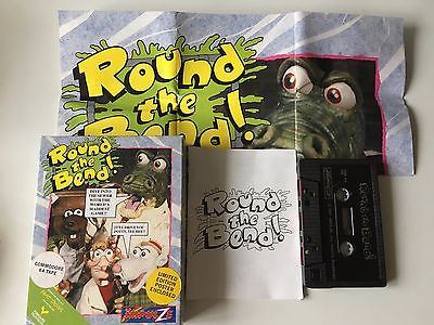 Round the Bend for Commodore 64 C64 Tape Game by Impulze - Big Box + Poster