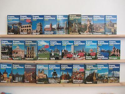 29 Bücher Knaurs Kulturführer in Farbe Reiseführer