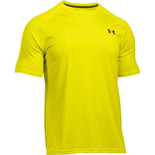Under Armour Ua Tech Ss Tee Herren Fitness - T-shirts & Tanks, Gelb (Flash Light), Gr. XXL