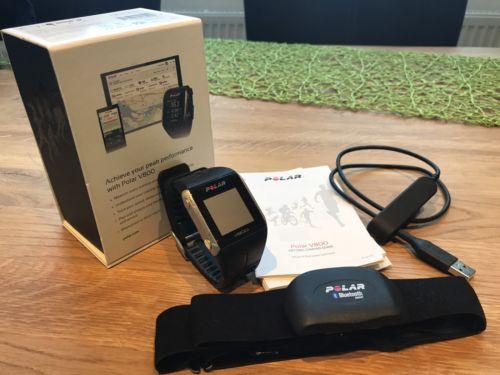 Polar V800 HR GPS Pulsuhr mit Brustgurt - In OVP