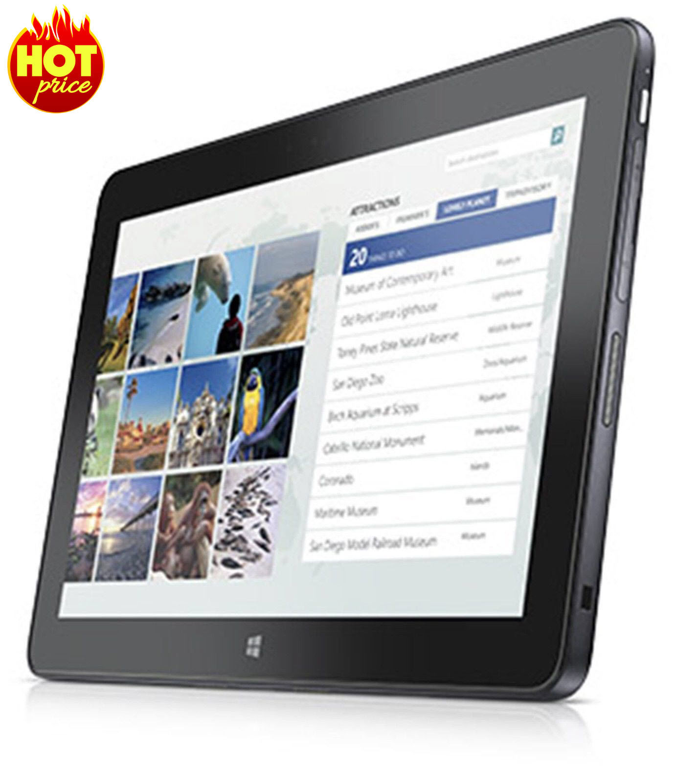 Dell Venue 11 Pro 7140 128GB SSD WLAN WWAN FULL HD IPS WINDOWS 10 TABLET, 4G LTE