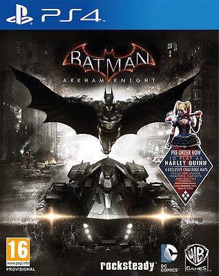 BATMAN ARKHAM KNIGHT PS4 ACTION GAME BRAND NEW SEALED OFFICIAL