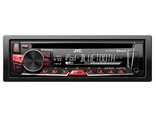 JVC Auto Radio mit Bluetooth, USB, CD u.v.m. passend für Seat Leon 1M 1/00 > 5/06 inklusive der notwendigen Blenden, Kabel und Adapter !