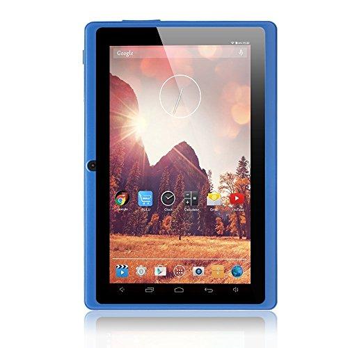 iRULU eXpro X1 7 Zoll Google Android Tablet PC, 1024x600 Auflösung, 8GB Nand Flash, Wi-Fi, Spiele, Dual-Kameras - Blau