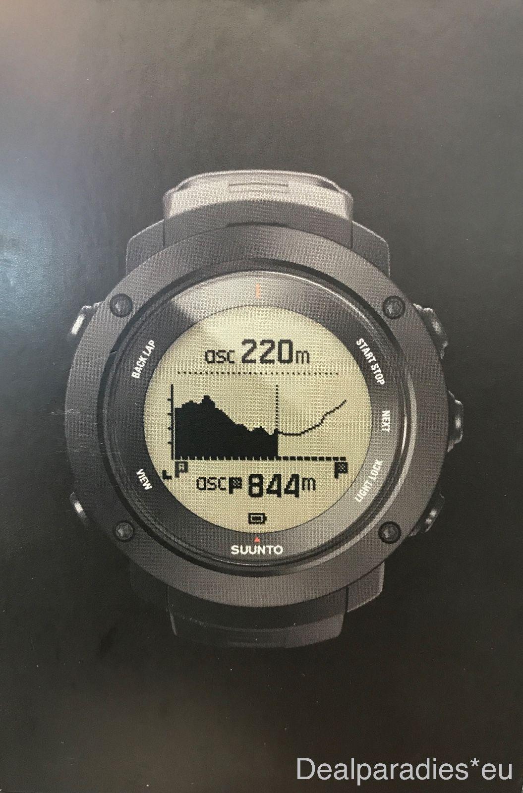 Suunto - Ambit3 Vertical - HR - GPS-Uhr - Schwarz - NEU&OVP