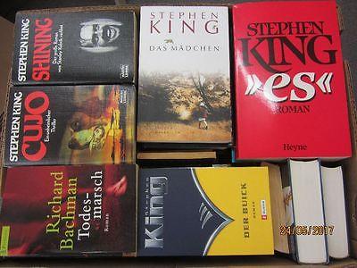 Stephen King 48 Bücher Horrorromane Gruselromane Fantasyromane
