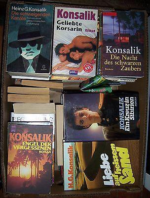 Heinz G. Konsalik - 60 Bücher - Buchpaket Bücherpaket Buchsammlung