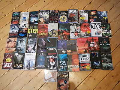 Riesen Bücherpaket Thriller Koonz King Scarpetta usw…….
