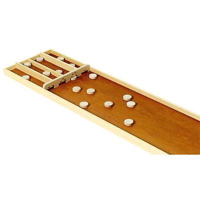 SJOELBAK großes Shuffleboard 200cm Shuffle Board Holz Spiel aus Holland Billiard