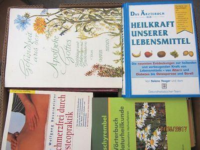 58 Bücher Gesundheit Medizin Selbstheilung Naturmedizin Naturheilkunde