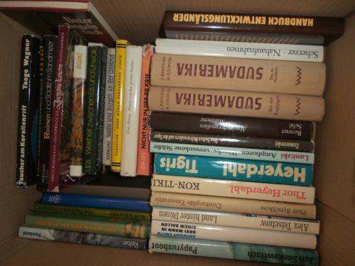 Bücherkiste / Sammlung Reiseberichte in der DDR erschienen Ostalgie *mit Liste