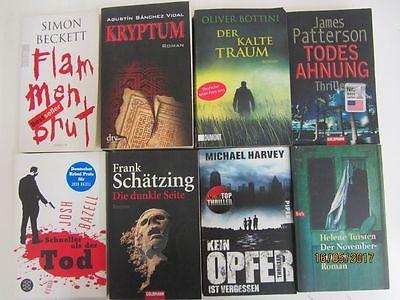 56 Bücher Romane Krimi Thriller Psychothriller  Top Titel Bestseller
