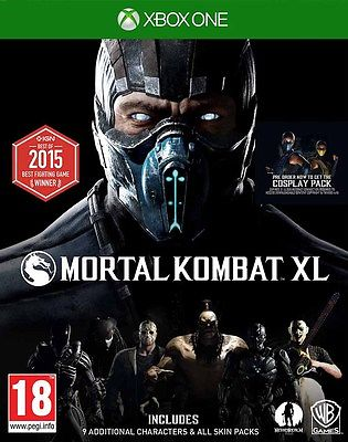 Mortal Kombat XL XBOX ONE BRAND NEW SEALED UK OFFICIAL