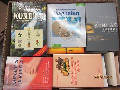 65 Bücher Gesundheit Medizin Selbstheilung Naturmedizin Naturheilkunde