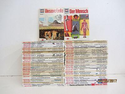 58 Bücher Was ist Was  Jugendsachbücher Kindersachbücher keine doppelten