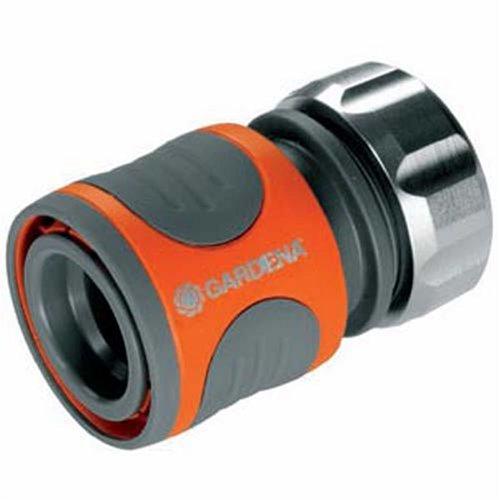 Gardena 8166-30 Schlauchstück Premium, mit Schnellkupplung, Klemmmutter mit hoher Haltkraft, Komfortables Design, Hochwertige Materialien (Anwendung: Schlauchanfang; Geeignet für: 13mm 1/2