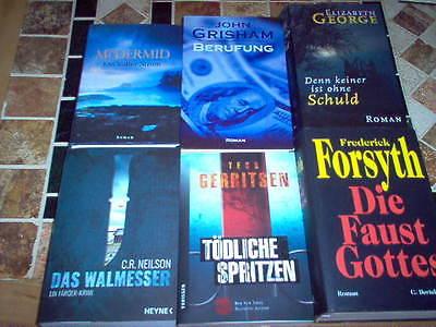 22 Bücher Sammlung Buch Paket zb.C.R.Neilson Das Walmesser,Tess Gerritsen ....