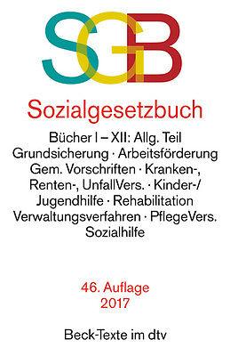 SOZIALGESETZBUCH (SGB) 46. Auflage 2017 Beck-Texte im dtv ***NEU & KEIN PORTO***