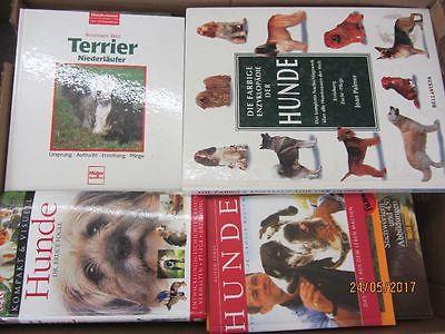 57 Bücher Hunde Hundrassen Hundepflege Hundeerziehung Hundegeschichten
