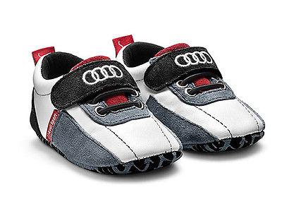 Audi Sport Baby Schühchen Gr. 17 - 18 Schuhe Krabbelschuhe Babyschuhe 3201400700