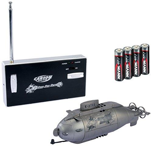 Carson 500108015 - Wasserfahrzeug - RC-Uboot XS Deep Sea Dragon 100 % RTR