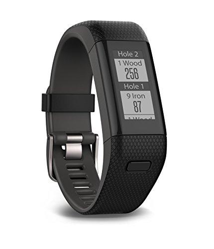Garmin Approach X40 GPS-Golfarmband - Herzfrequenzmessung am Handgelenk, automatische Erfassung der Schlagweite, Tracking der Schlagpositionen