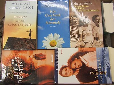 34 Bücher Romane Top Titel Bestseller Paket 1