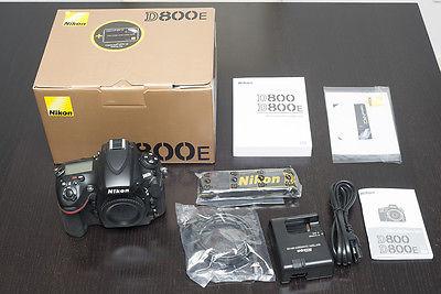 Nikon D800E 36.3 MP SLR-Digitalkamera - Schwarz (Nur Gehäuse)