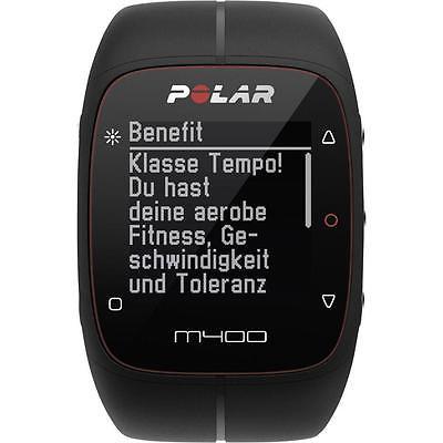 Polar M400 GPS HR Schwarz Pulsuhr , Restgarantie