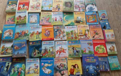 45 leselöwen bücher lesen lernen sammlung paket kinderbücher
